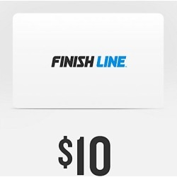 Finish Line Gift Card, Grey found on Bargain Bro India from Finish Line for $10.00