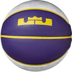Nike LeBron Playground Basketball in Purple Size 7 Leather
