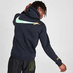 Nike Men's PG Gatorade Basketball Hoodie in Black Size Large Cotton/Polyester/Fleece