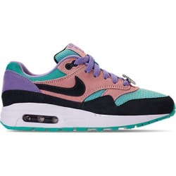 Nike Big Kids' Air Max 1 SE Casual Shoes, Black found on MODAPINS from Finish Line for USD $75.00