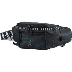 Jordan Taping Crossbody Bag - Black/Olive Tiger Camo/Brown