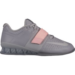 Nike Romaleos 3XD Weightlifting Shoes - Atmosphere Grey / Pink Tint, Size One Size
