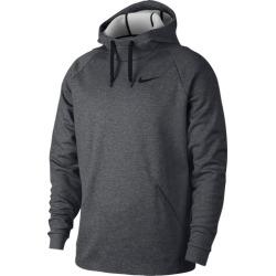Nike Therma Fleece Hoodie - Charcoal Heather / Black, Size One Size