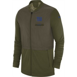 Nike NFL Salute To Service Hybrid Jacket - New York Giants - Olive