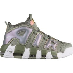 Womens Nike Air More Uptempo - Dark Stucco/White/Black