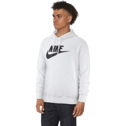 Nike GX Club Hoodie - White / Black, Size One Size