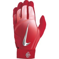 1414f4f56cca Nike Huarache Elite Batting Gloves - Mens - University Red Chrome Hot Punch