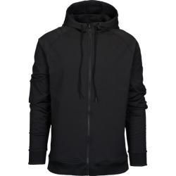 Eastbay EVAPOR Premium Full Zip Hoodie - Black, Size One Size