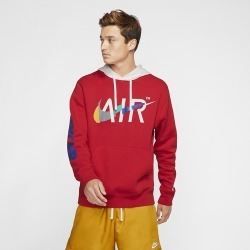 Nike Game Changer Club Pullover Hoodie - University Red, Size One Size