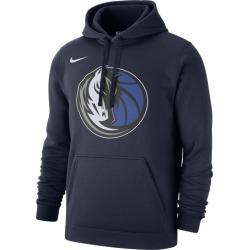 Nike NBA Club Fleece Pullover Hoodie - Dallas Mavericks - College Navy, Size One Size