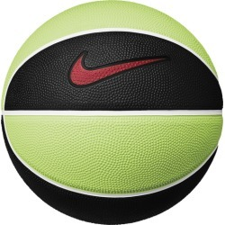 Nike Mini Basketball - Black / Volt / University Red