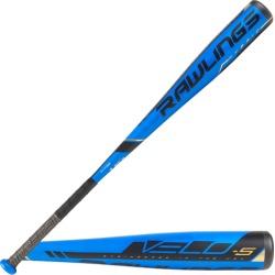 Rawlings Velo Youth USA Baseball Bat - Blue / Black, Size One Size