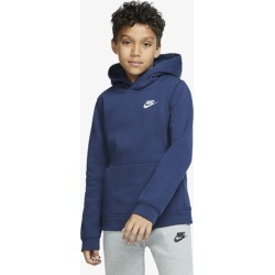 Nike Futura Club Hoodie - Midnight Navy / White, Size One Size