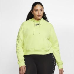 Nike Plus Size Air Hoodie - Limelight, Size One Size