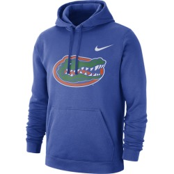 Nike College Team Club Pullover Hoodie - Florida Gators - Game Royal, Size One Size