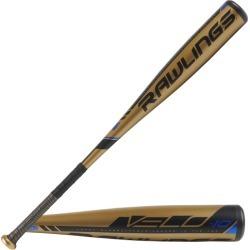 Rawlings Velo Youth Baseball Bat - Gold / Black, Size One Size