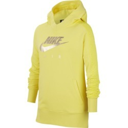 Nike Air GX Pullover Hoodie - Dynamic Yellow / Metallic Gold, Size One Size