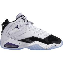 Jordan B'Loyal Basketball Shoes - White/Purple