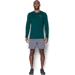 Under Armour HeatGear Streaker Long Sleeve Top - Mens - Arden Green/Arden Green/Reflective