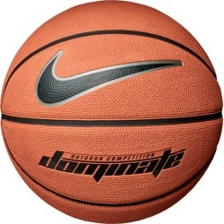 Nike Dominate Basketball - Amber / Black Metallic Platinum