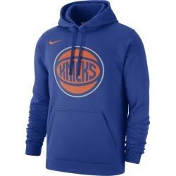 Nike NBA Club Fleece Pullover Hoodie - New York Knicks - Rush Blue, Size One Size