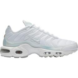 Womens Nike Air Max Plus - White/White/Pure Platinum
