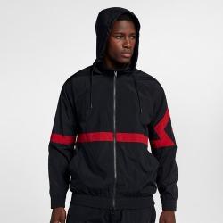 Jordan JSW Diamond Jacket - Mens - Black/Black/Gym Red/Gym Red