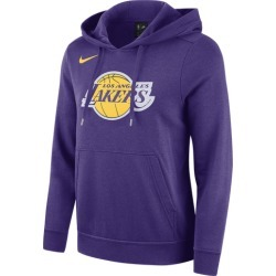 Nike NBA Club Fleece Pullover Hoodie - Los Angeles Lakers - Field Purple, Size One Size