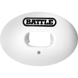Battle Sports Oxygen Mouthguard - White / Black