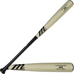 Marucci AP5 Pro Model Maple Baseball Bat - Black / Natural, Size One Size