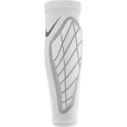 Nike Pro Hyperstrong Padded Forearm Shivers - White / Grey / Black, Size One Size