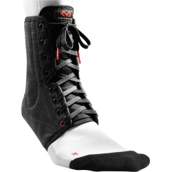McDavid Ankle Brace/Lace-Up w/ Stays - Black, Size One Size found on Bargain Bro Philippines from Eastbay Athletic SportSource for $29.99