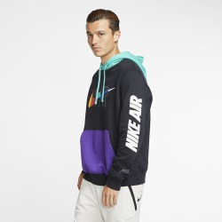Nike Game Changer Club Pullover Hoodie - Black, Size One Size