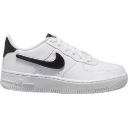 Nike Air Force 1 Low Basketball Shoes - White/Black/Green Strike