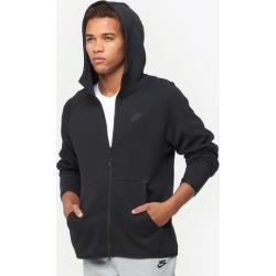 Nike Tech Fleece Full-Zip Hoodie - Black / Black, Size One Size