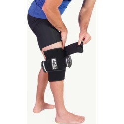 Ice20 Double Knee Ice Compression Wrap - Black found on Bargain Bro Philippines from Eastbay Athletic SportSource for $80.00