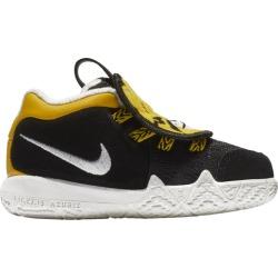 Nike Kyrie 4 Little Beast Basketball Shoes - Black / Summit White Yellow Ochre
