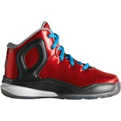 adidas D Rose 5 Active Basketball Shoes - Light Scarlet / Solar Blue Black found on MODAPINS from Foot Locker for USD $49.99