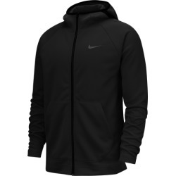 Nike Spotlight Full-Zip Hoodie - Black / Anthracite, Size One Size