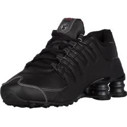 Nike Shox NZ Running Shoes - Black / Varsity Red / White