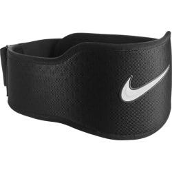 Nike Strength Training Belt 3.0 - Black / Black / White, Size One Size