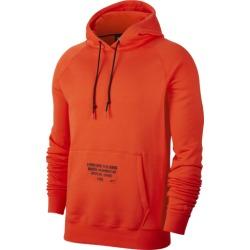 Nike LeBron Hoodie - Team Orange / Black, Size One Size
