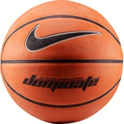 Nike Dominate Basketball - Amber / Black / Metallic Platinum