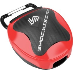 Shock Doctor Anti-Microbial Mouthguard Case - Red