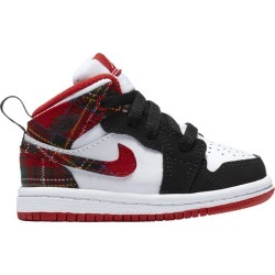 Kids Jordan Air Jordan 1 Mid - Boys Infant - Santa Red/Black/White found on MODAPINS from Footaction.com for USD $50.00