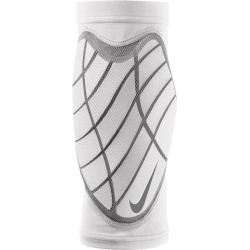 Nike Pro Hyperstrong Padded Bicep Sleeves - White / Grey / White, Size One Size
