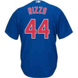 Majestic MLB Cool Base Player Basketball Jersey - Chicago Cubs - Royal - Rizzo, Anthony