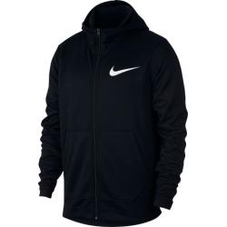 Nike Spotlight Full-Zip Hoodie - Black / White, Size One Size