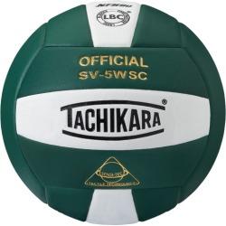 Tachikara SV-5WSC Volleyball - Dark Green / White