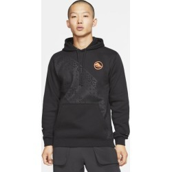 Nike Club Pullover Hoodie - Black, Size One Size